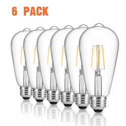 zanflare Filament Lamp Set Of 6