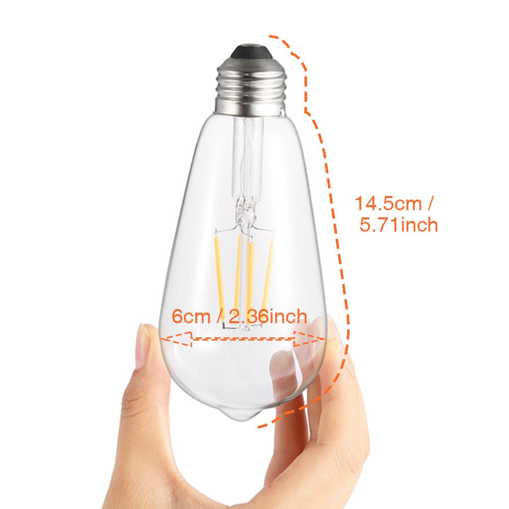 LED Filament Lamp Safe