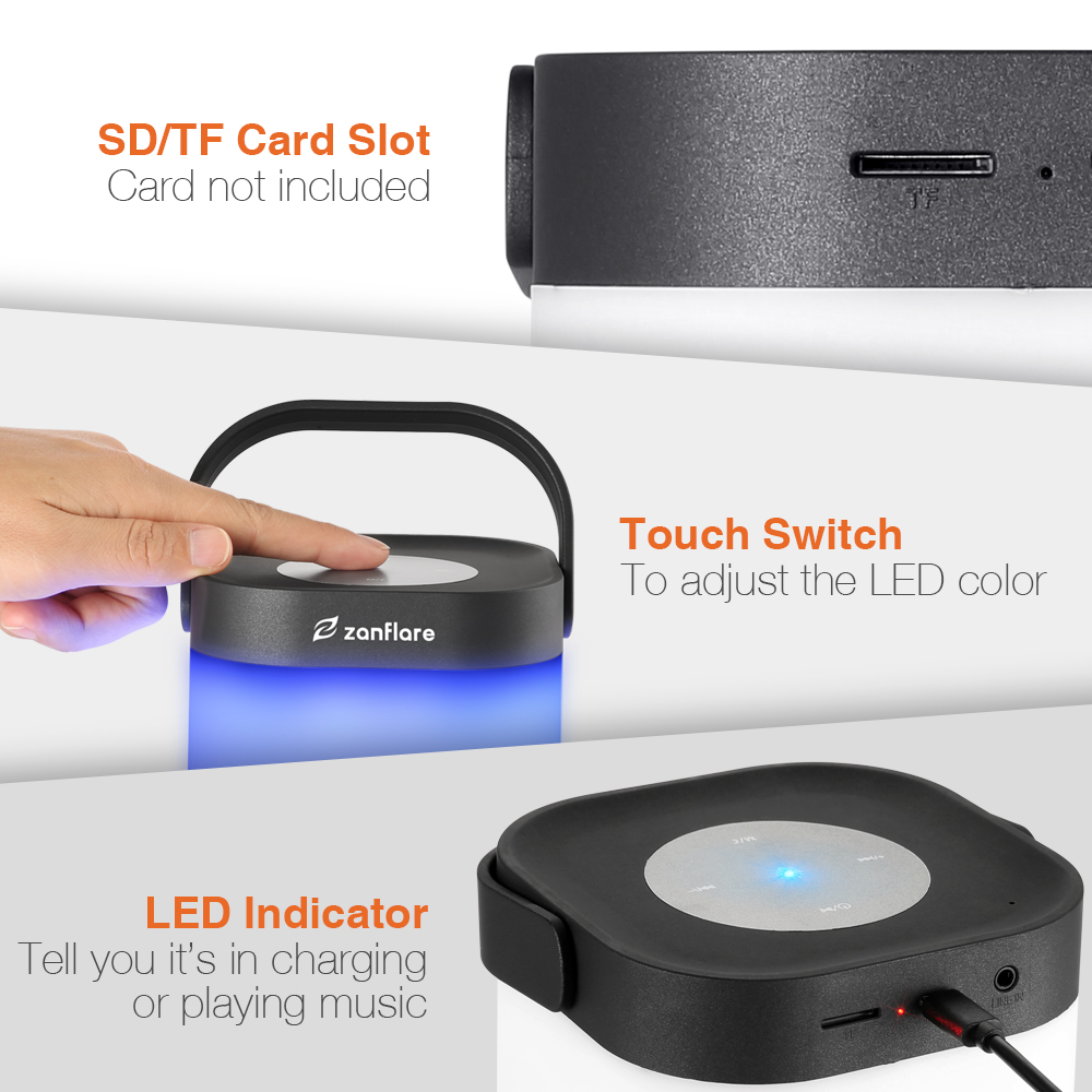 Portable Bluetooth Light