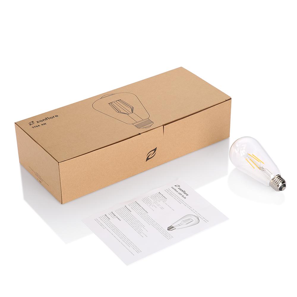 LED Filament Lamp Living Room