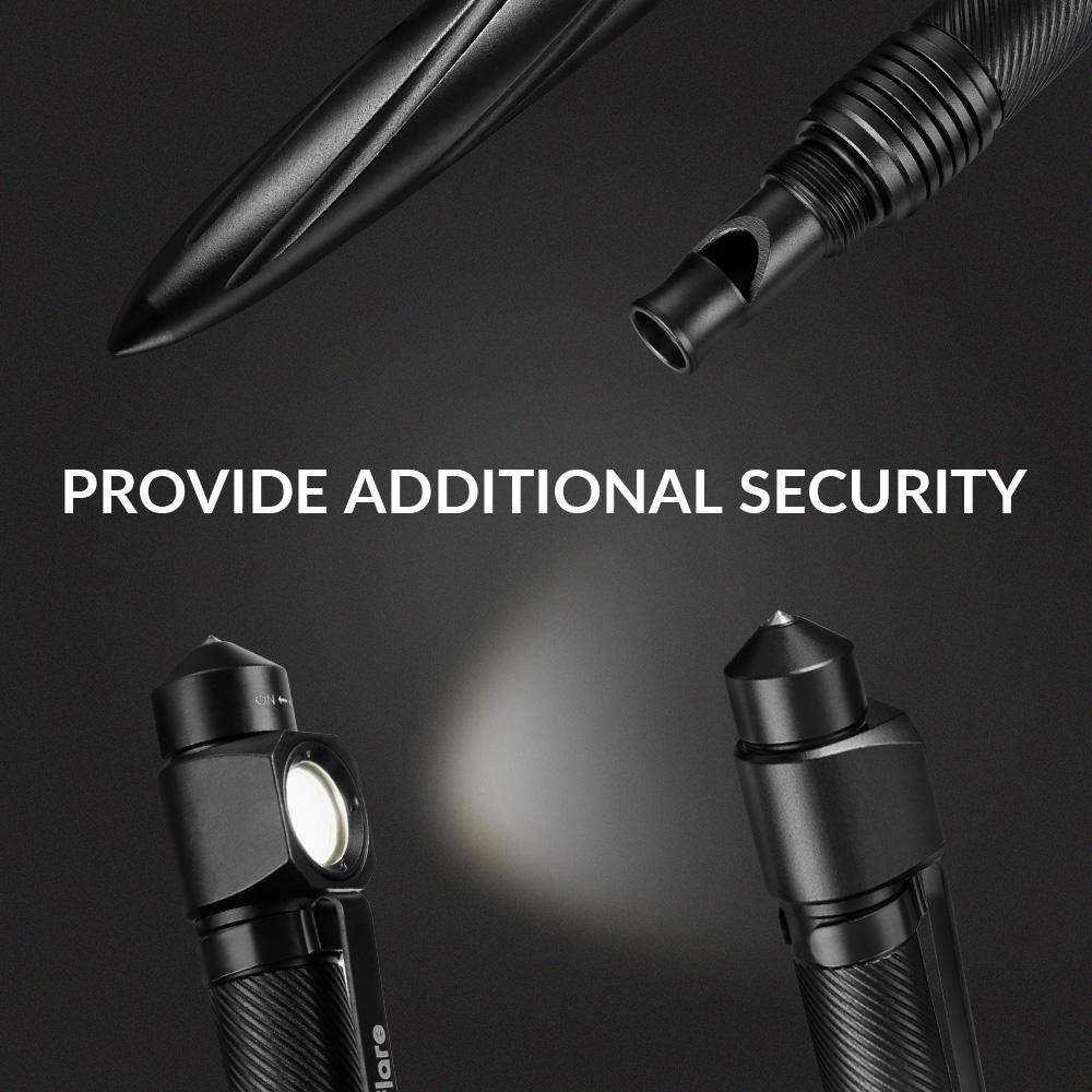 Aluminum Alloy Flashlight Pen