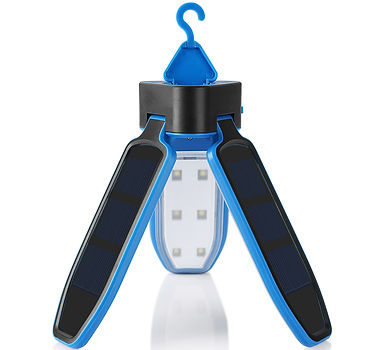 Zanflare SB-6039 Solar Panel Collapsible Clover Camping Tent Lantern