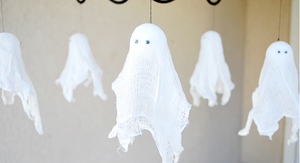 zanflare-how to make cheesecloth ghost