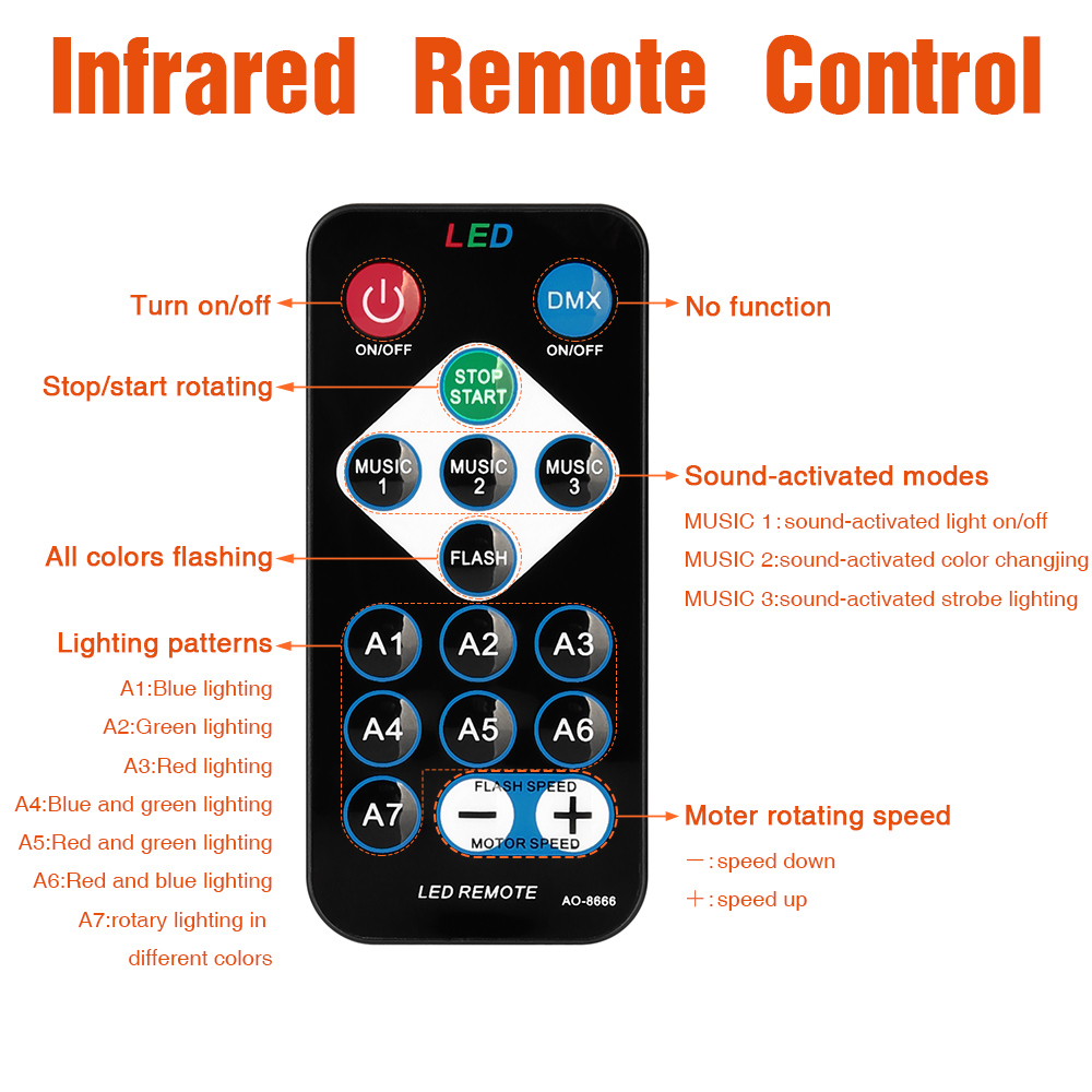 Party Light Remote