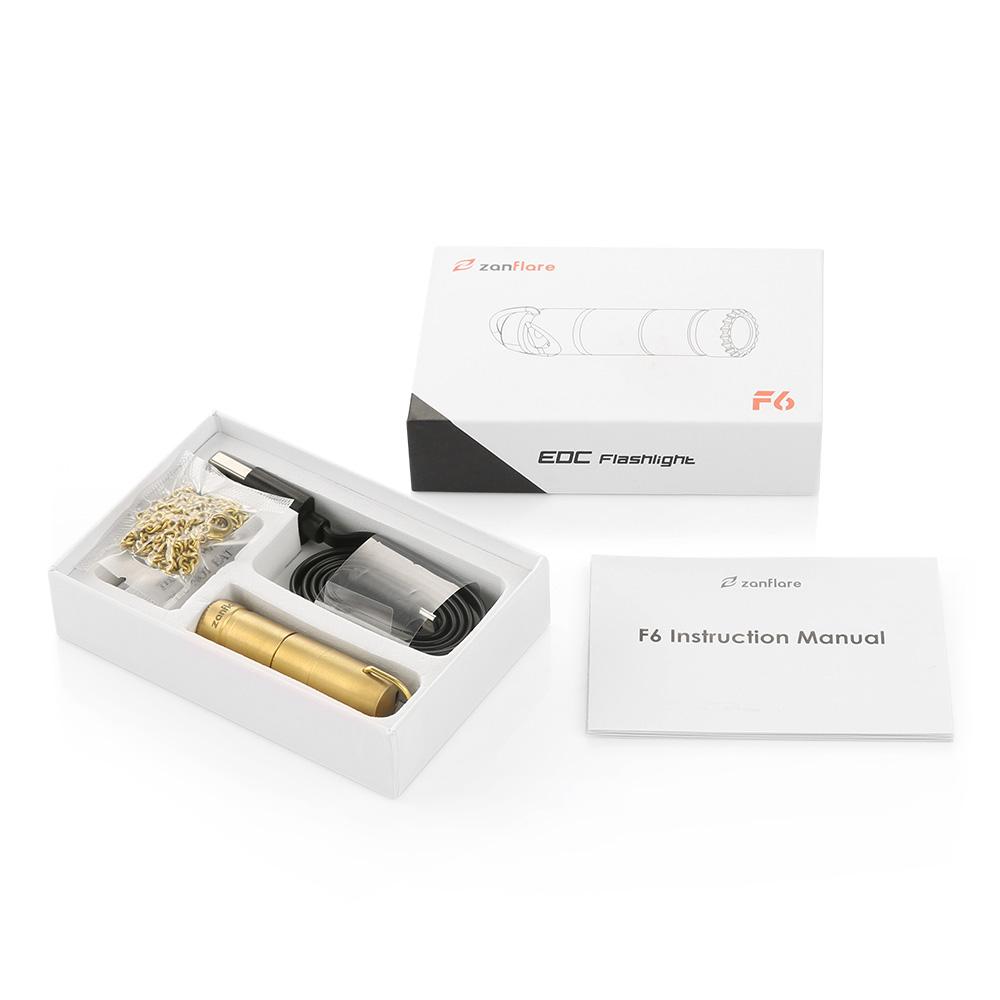 F6 Flashlight Package