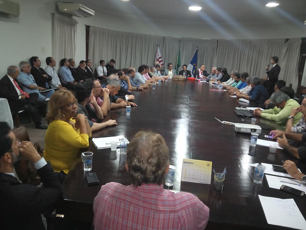 Reunião Ordinária de Outubro 2017