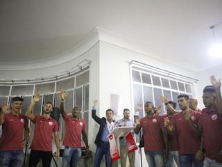 Homenagem pela conquista do Campeonato Pernambucano de 2018