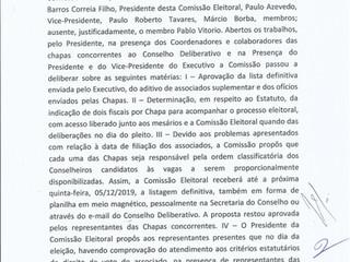 Comissão Eleitoral se reúne com candidatos