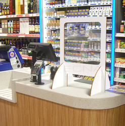 Retail Screens: Small shop