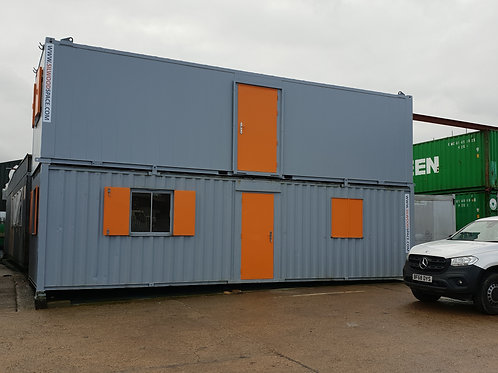 32X10 ANTI-VANDAL FLAT SIDED OFFICE/TOILET/CANTEEN