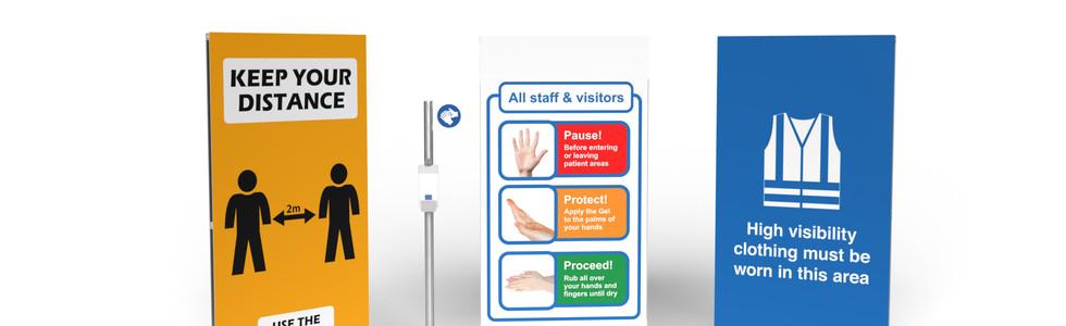 Sanitation & Signage: Signs