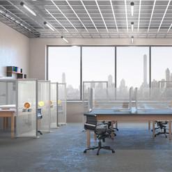 Desk Divider: Open Layout