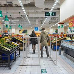 Retails Screens: Supermarket