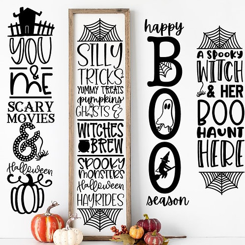 Farmhouse Halloween Signs