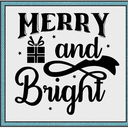 Merry and Bright (w/gift)