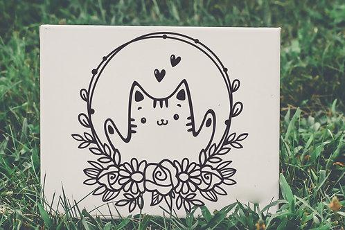 Cat mini sign