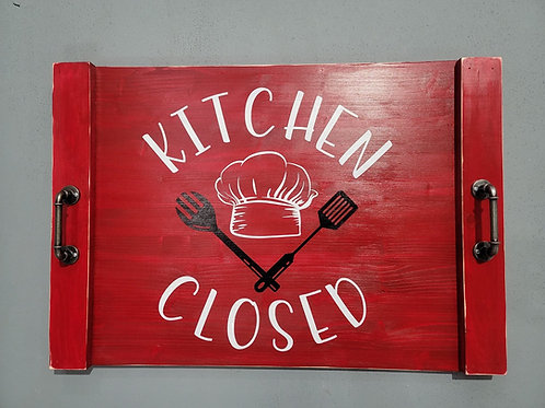 Kitchen Closed Stove Cover