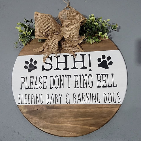 SHH! Don't Ring the Bell