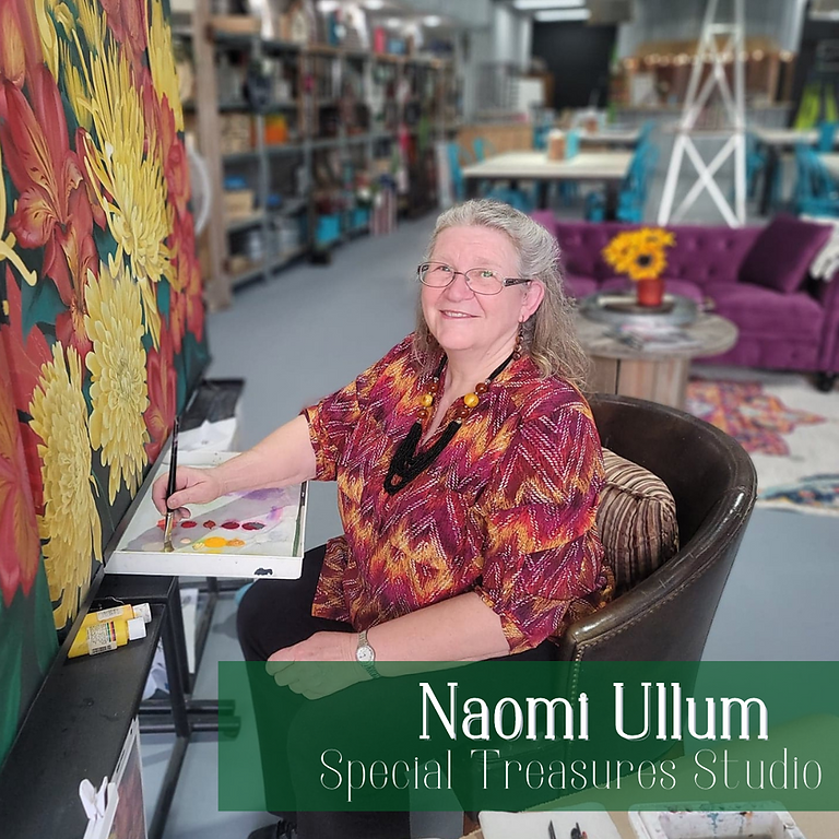 Fine Arts Painting Course with Naomi Ullum  - SOLD OUT