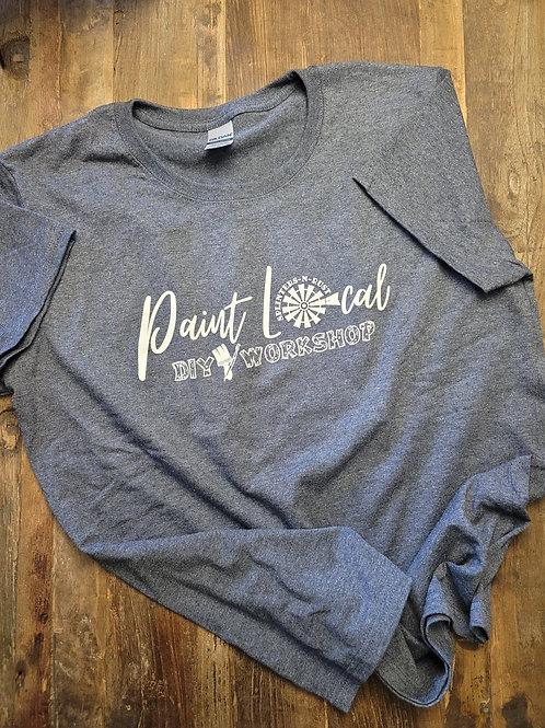 Paint Local Splinters-N-Rust T Shirt (Heather Navy)