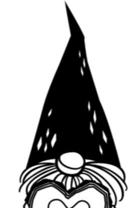 Gnome LOVE sign
