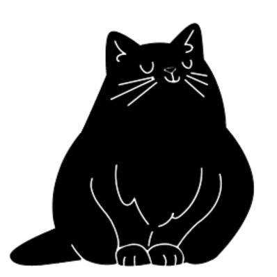 Kids Fat Cat Jr plank sign