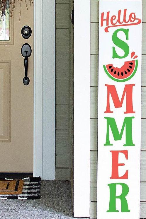 Watermelon Summer Porch Sign