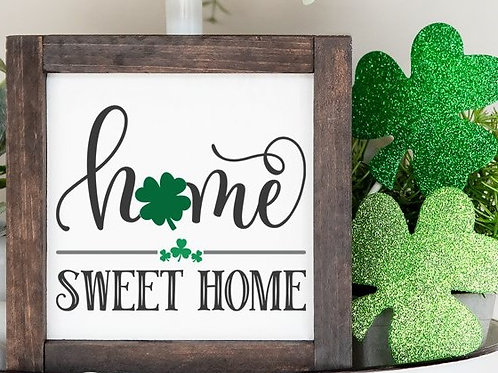 Home Sweet Home Mini sign with Frame!