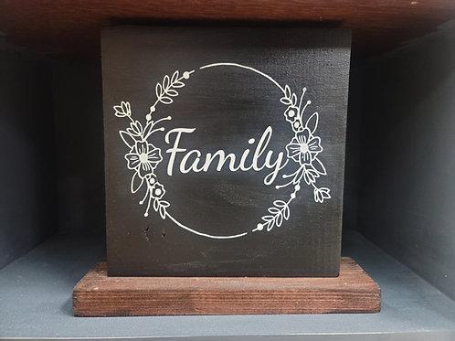 Family- med sign