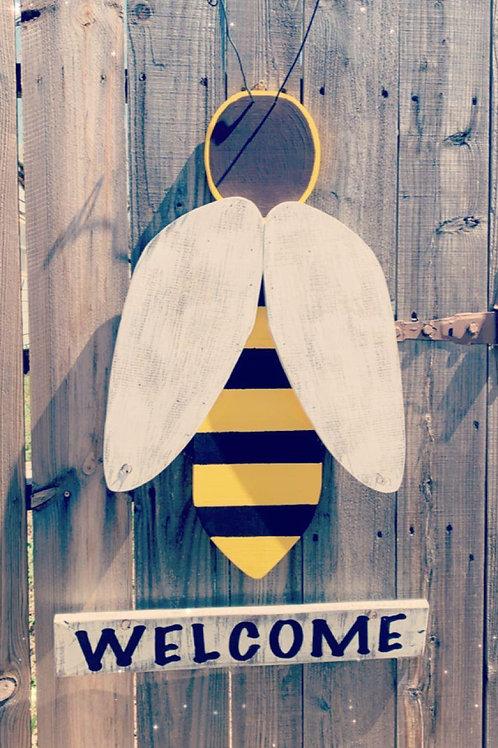 Bee Yard Art