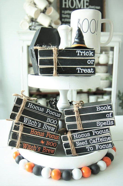 Halloween Themed Books kit