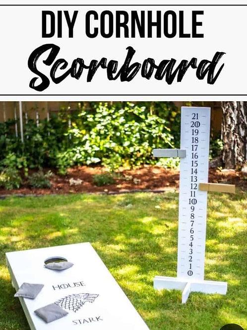 Corn Hole Score board