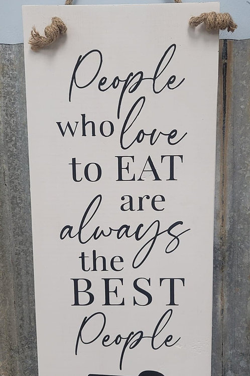 Julia Child quote kitchen sign