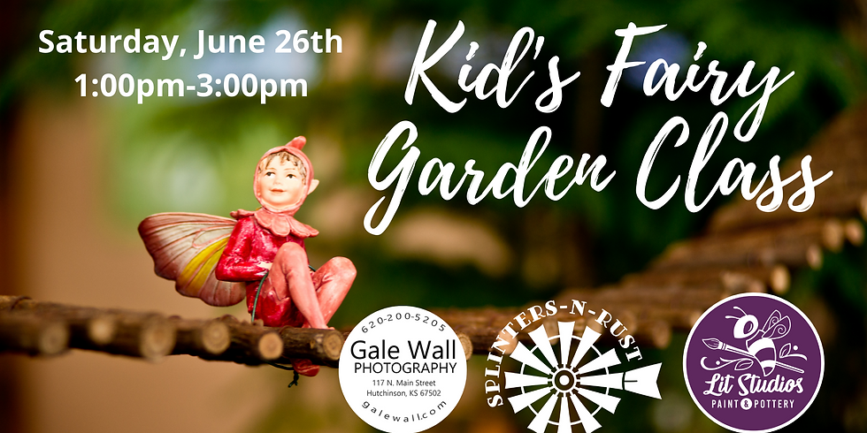Kid's Fairy Garden Class