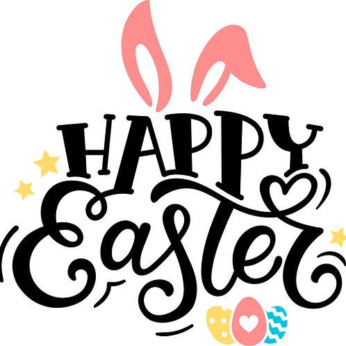 Happy Easter- Medium sign