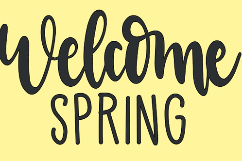 Welcome Spring Mini