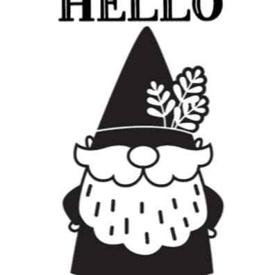 Hello Gnome Sign