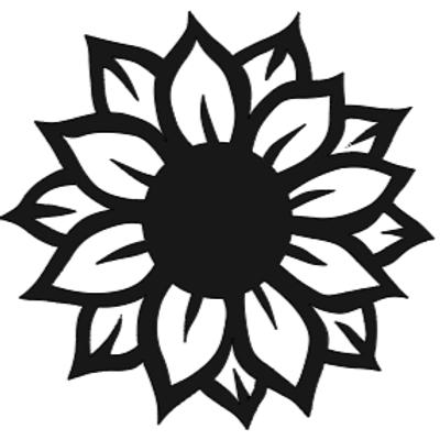 Sunflower Jr Plank Sign
