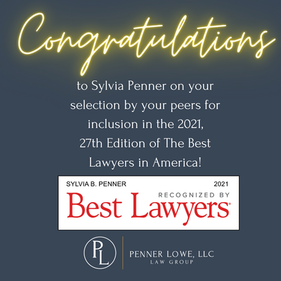 Sylvia Penner selected for 2021 edition of Best Lawyers in America.