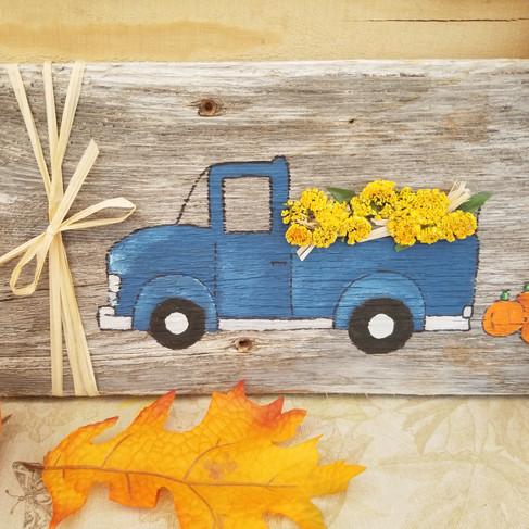 Blue Truck Harvest