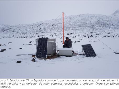 Agencia Espacial del Perú continúa trabajos en la Antártida