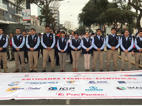 Agencia Espacial del Perú participó del Desfile Cívico Militar por Fiestas Patrias