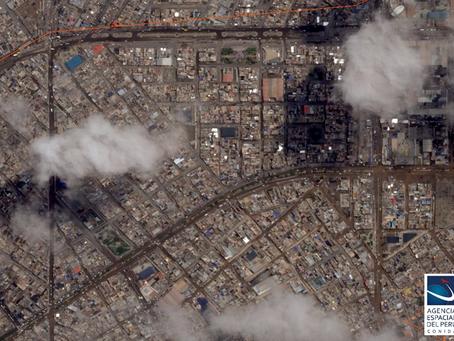 PerúSAT-1 capta desastre en Tacna