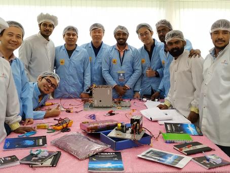 Ingenieros peruanos participaron en programa de Nanosatélites en la India