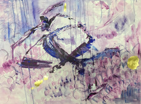 Through the Orchid Rain (SOLD)