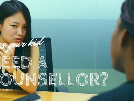 Does Your Kid Need a Counsellor?