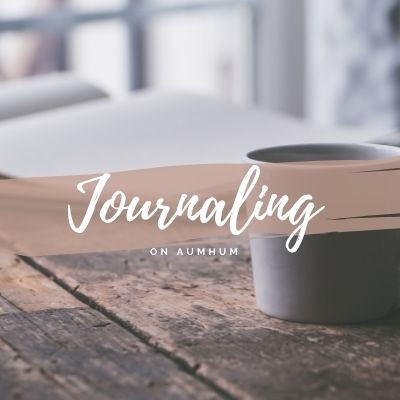 Start a journal on self-care and self-compassion