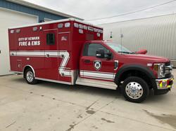 Newark Fire and EMS McCoy Miller