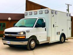 Ohio Ambulance Wheeled Coach