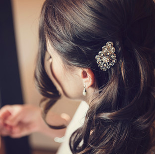Bride Getting Ready at St Julien